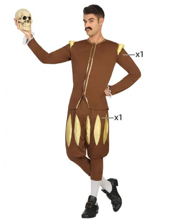 Pantalones de campana amarillos para hobre