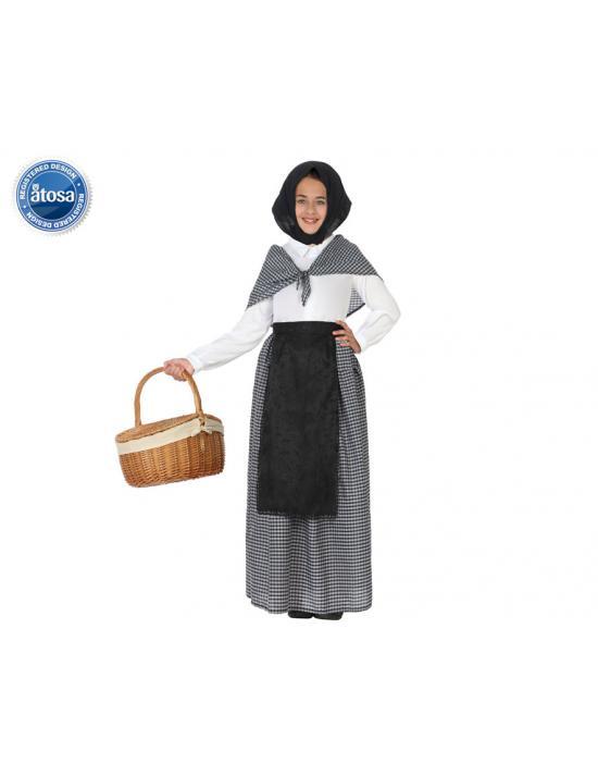 Disfraz abuela a hombros