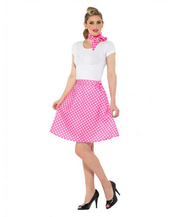 Disfraz de glamurosa estrella de rock para niña