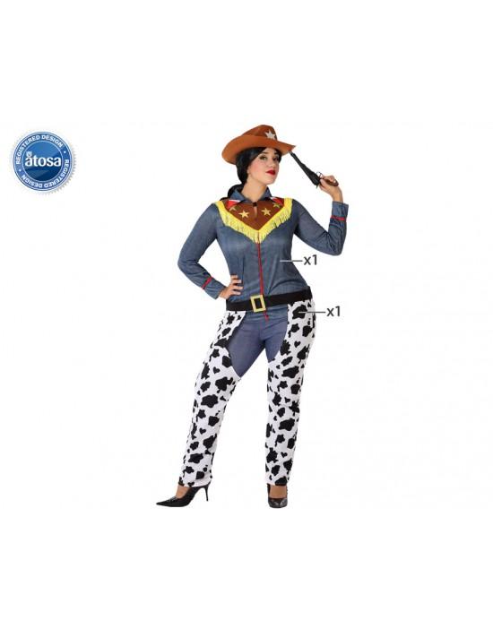 Disfraz de doncella medieval para mujer