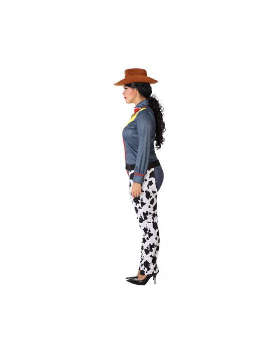 Disfraz de dama de negro años 20 para mujer