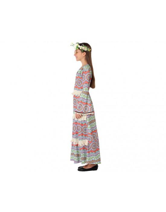 Disfraz de animadora zombie azul