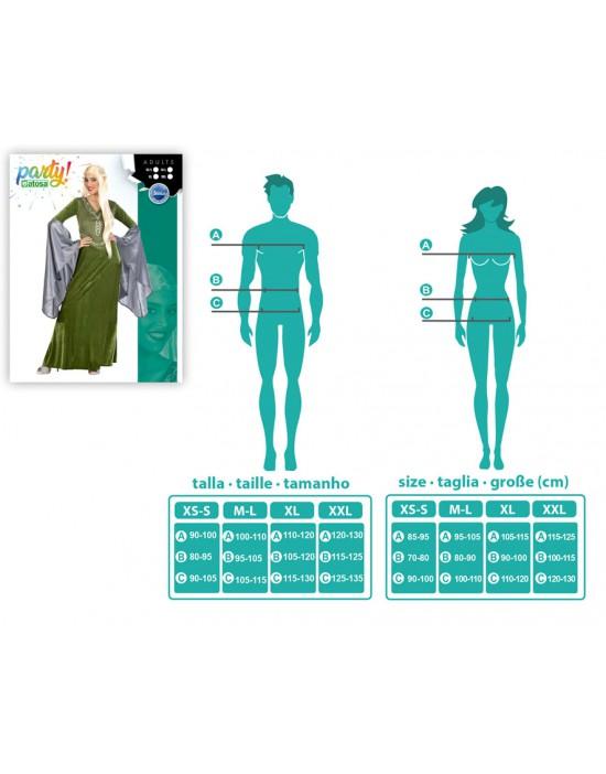 Disfraz de hada zombie